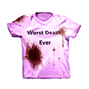 Purple Bloody Convention Shirt